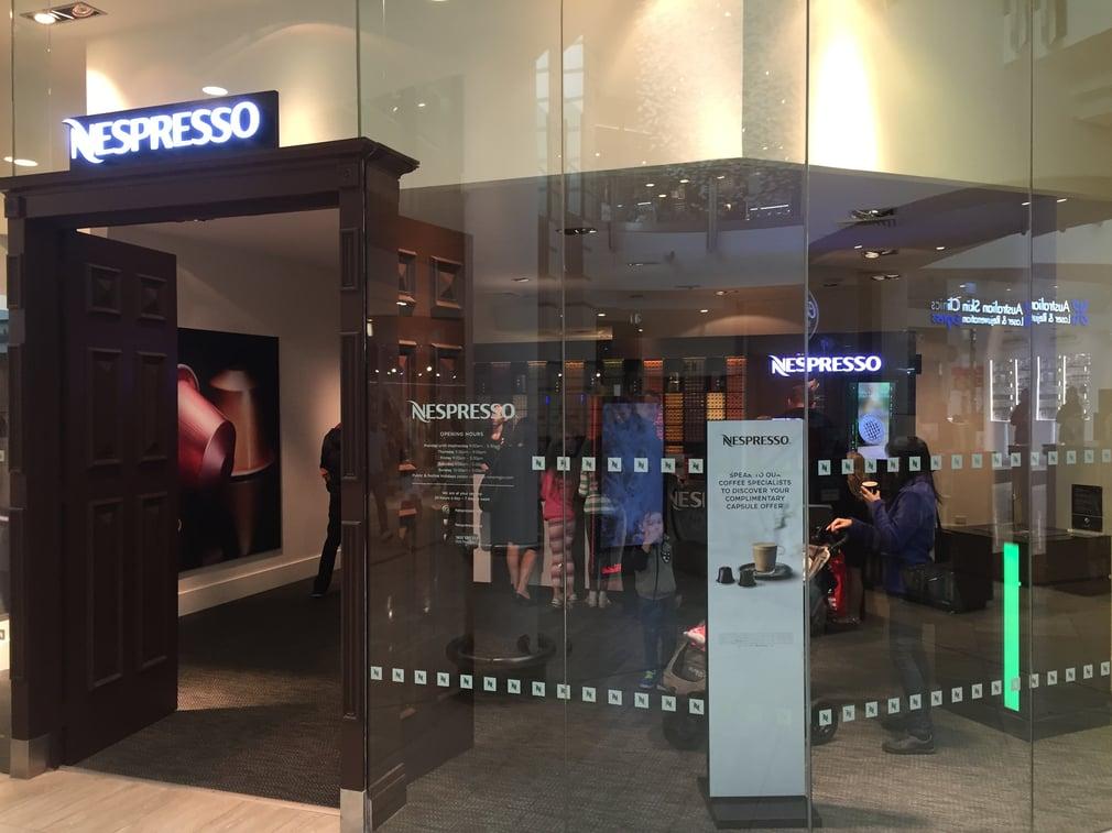 nespresso warringah mall